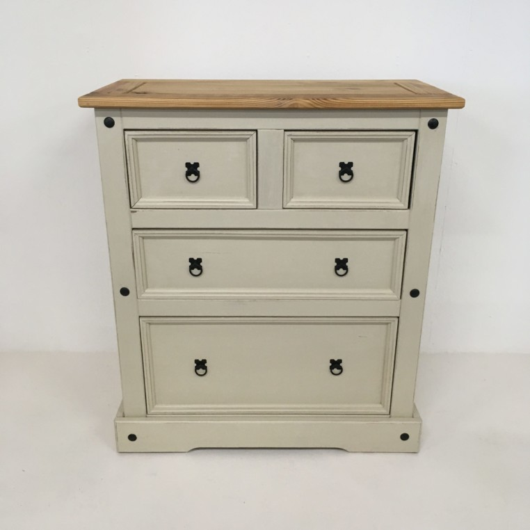 shabby chic cream chest of drawers unique ness